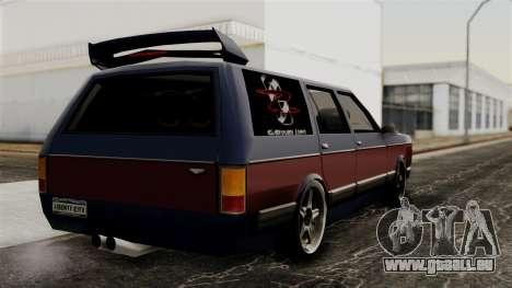 New Regina Extreme pour GTA San Andreas laissé vue