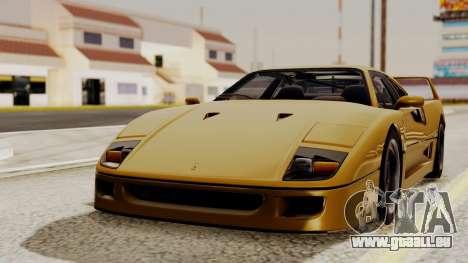 Ferrari F40 1987 HQLM pour GTA San Andreas