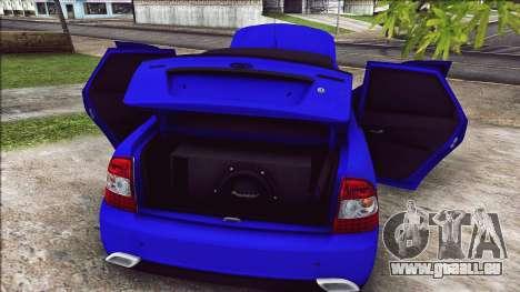 VAZ 2170 Vip-Stil für GTA San Andreas Rückansicht