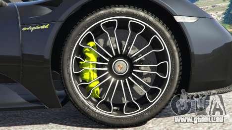 Porsche 918 Spyder 2014 [HD] pour GTA 5