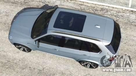 GTA 5 BMW X5 M (E70) 2013 v1.01 vue arrière