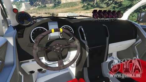 GTA 5 Isuzu D-Max droite vue latérale