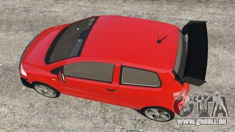 GTA 5 Volkswagen Fox v1.1 Rückansicht