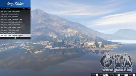 GTA 5 Map Editor 1.5 zweite Screenshot