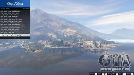 Map Editor 1.5 pour GTA 5