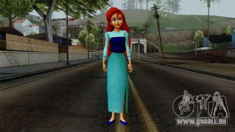 Ariel (Human Version) pour GTA San Andreas deuxième écran