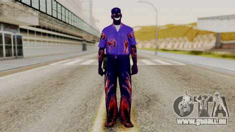 FNAF Purple Guy für GTA San Andreas zweiten Screenshot