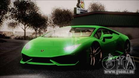 TASTY ENBSeries 0.248 pour GTA San Andreas deuxième écran