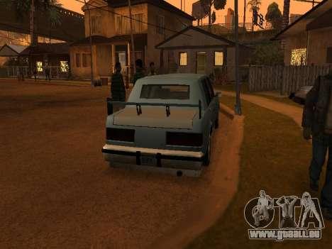New Greenwood pour GTA San Andreas vue de droite