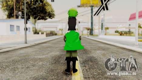 Gumi Love Is War (Vocaloid) für GTA San Andreas dritten Screenshot