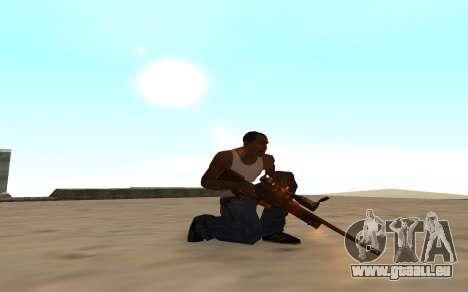 Nitro Weapon Pack pour GTA San Andreas quatrième écran