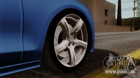 Audi A7 Sportback 2009 für GTA San Andreas zurück linke Ansicht