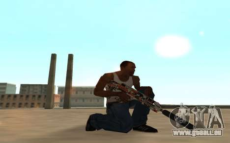 Asiimov Weapon Pack v2 pour GTA San Andreas