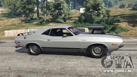 GTA 5 Dodge Challenger RT 440 1970 v0.9 [Beta] linke Seitenansicht
