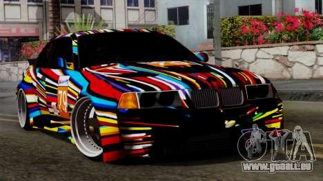 BMW M3 E36 79 pour GTA San Andreas