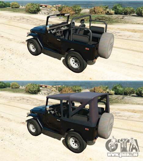 Toyota Land Cruiser (J40) 1978 [Beta 3b] pour GTA 5