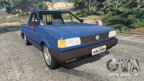 Volkswagen Saveiro 1.6 CLi pour GTA 5