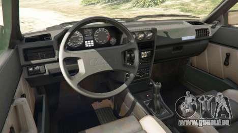 GTA 5 Audi Sport quattro v1.1 droite vue latérale