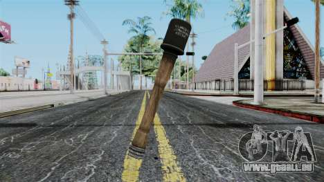 German Grenade from Battlefield 1942 für GTA San Andreas