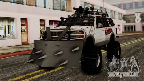 Ford Explorer Zombie Protection pour GTA San Andreas
