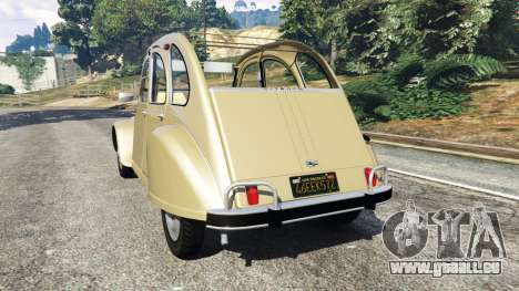 Citroen 2CV pour GTA 5