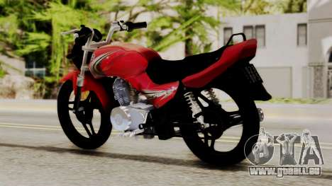 Yamaha YBR Imitacion für GTA San Andreas linke Ansicht
