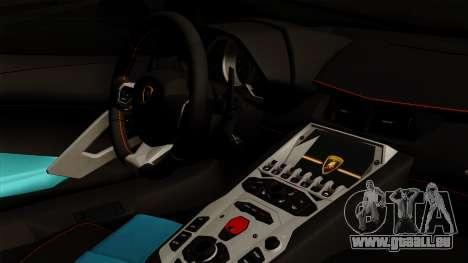 Lamborghini Aventador LB Performance pour GTA San Andreas vue de droite