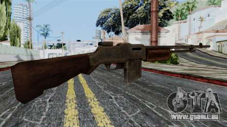 BAR 1918 from Battlefield 1942 für GTA San Andreas zweiten Screenshot