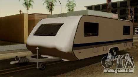 Camper Trailer für GTA San Andreas