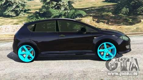 GTA 5 SEAT Leon II 2010 [Beta] linke Seitenansicht