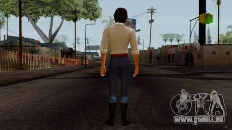 Eric (The Little Mermaid) für GTA San Andreas dritten Screenshot