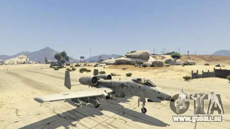 A-10A Thunderbolt II 1.1 für GTA 5