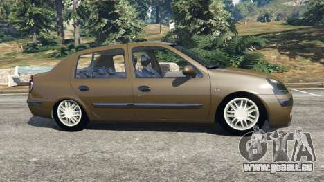 Renault Symbol 1.4L für GTA 5