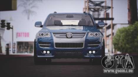 Volkswagen Touareg R50 2008 für GTA San Andreas linke Ansicht