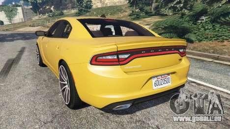 GTA 5 Dodge Charger RT 2015 v1.3 hinten links Seitenansicht
