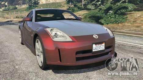 Nissan 350Z für GTA 5