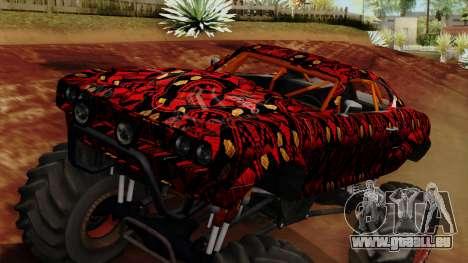 The Batik Big Foot pour GTA San Andreas vue de droite
