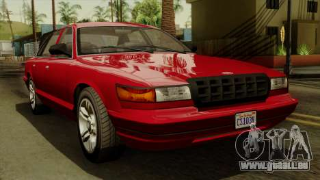 GTA 5 Vapid Stanier I IVF pour GTA San Andreas
