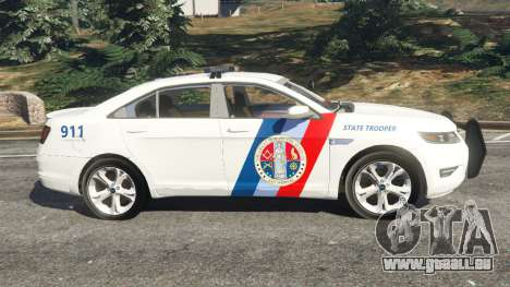 GTA 5 Ford Taurus State Troopers San Andreas linke Seitenansicht