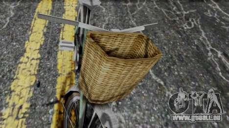 Olad Bike from Bully für GTA San Andreas zurück linke Ansicht