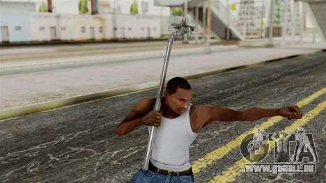 Pipe pour GTA San Andreas troisième écran