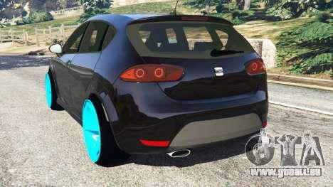 GTA 5 SEAT Leon II 2010 [Beta] hinten links Seitenansicht