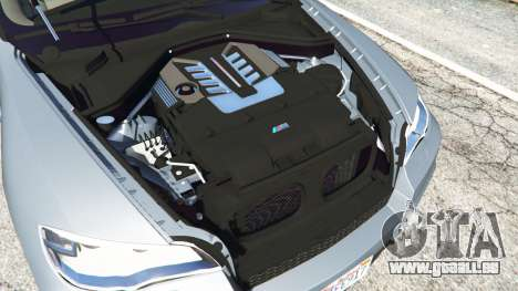 GTA 5 BMW X5 M (E70) 2013 v1.01 droite vue latérale