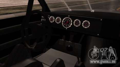 Pontiac GranPrix Hotring 1981 No Dirt für GTA San Andreas rechten Ansicht