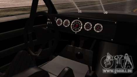 Pontiac GranPrix Hotring 1981 No Dirt pour GTA San Andreas vue de droite