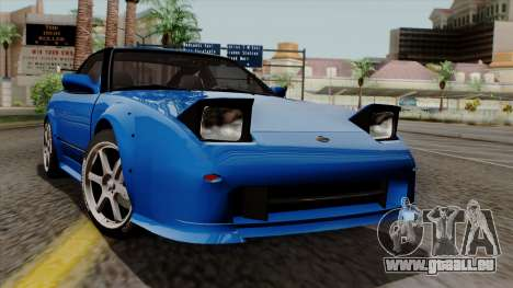 Nissan 180SX Street für GTA San Andreas