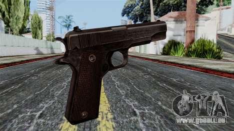 Colt M1911 from Battlefield 1942 pour GTA San Andreas deuxième écran