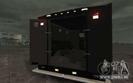 International 4000-Series SWAT Van pour GTA 4 est un droit