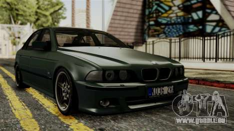 BMW 530D E39 1999 Mtech pour GTA San Andreas