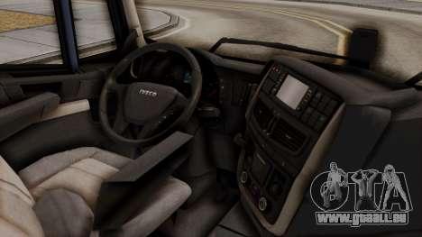 Iveco Truck from ETS 2 pour GTA San Andreas vue de droite